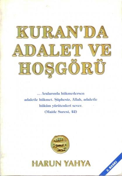 KURANDA ADALET VE HOSGÖRÜ-BEYAZ