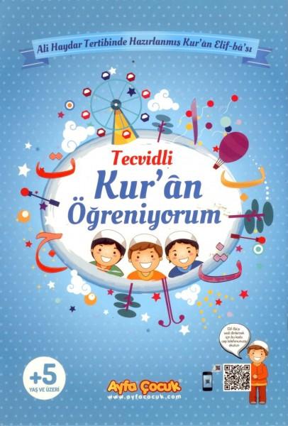 Kur'an Ögreniyorum (Ayfa-161M, Orta Boy, Mavi, Tecvidli)