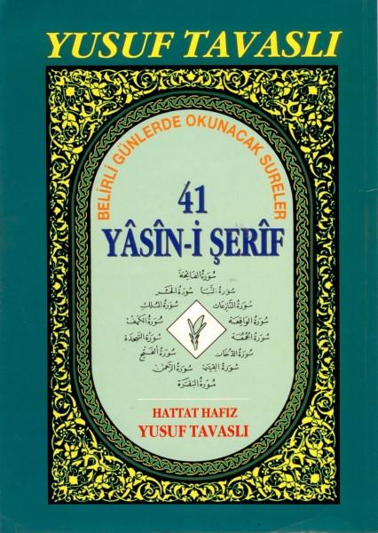 D34 - 41 Yasini Serif (rahle 2. Hmr) Yusuf Tavasli