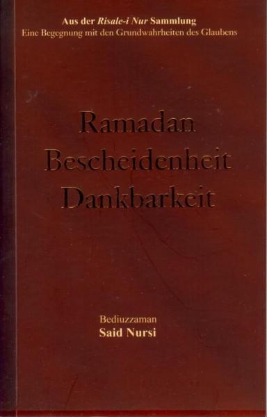 Ramadan Bescheidenheit Dankbarkeit