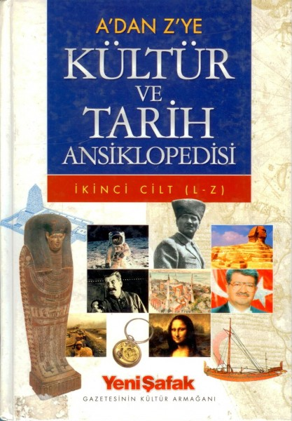 A'dan Z'ye Kültür ve Tarih Ansiklopedisi 1. Cilt